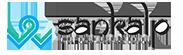 Sankalp White Logo