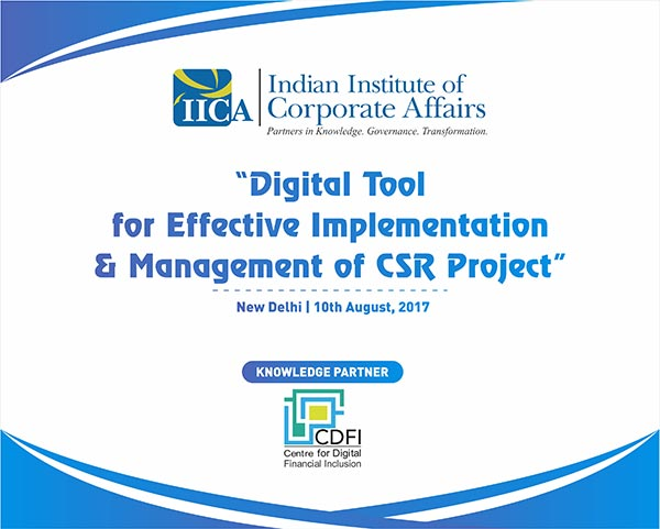 Digital Tool for Effective Implementation and Management of CSR Projects