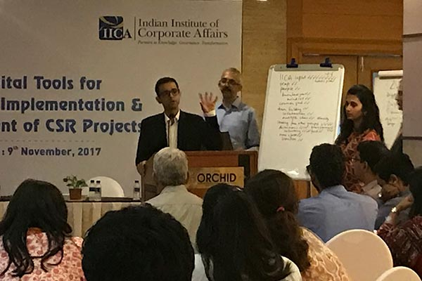 2nd CDFI-IICA Workshop on Digital Tools for Effective Implementation and Management of CSR Projects