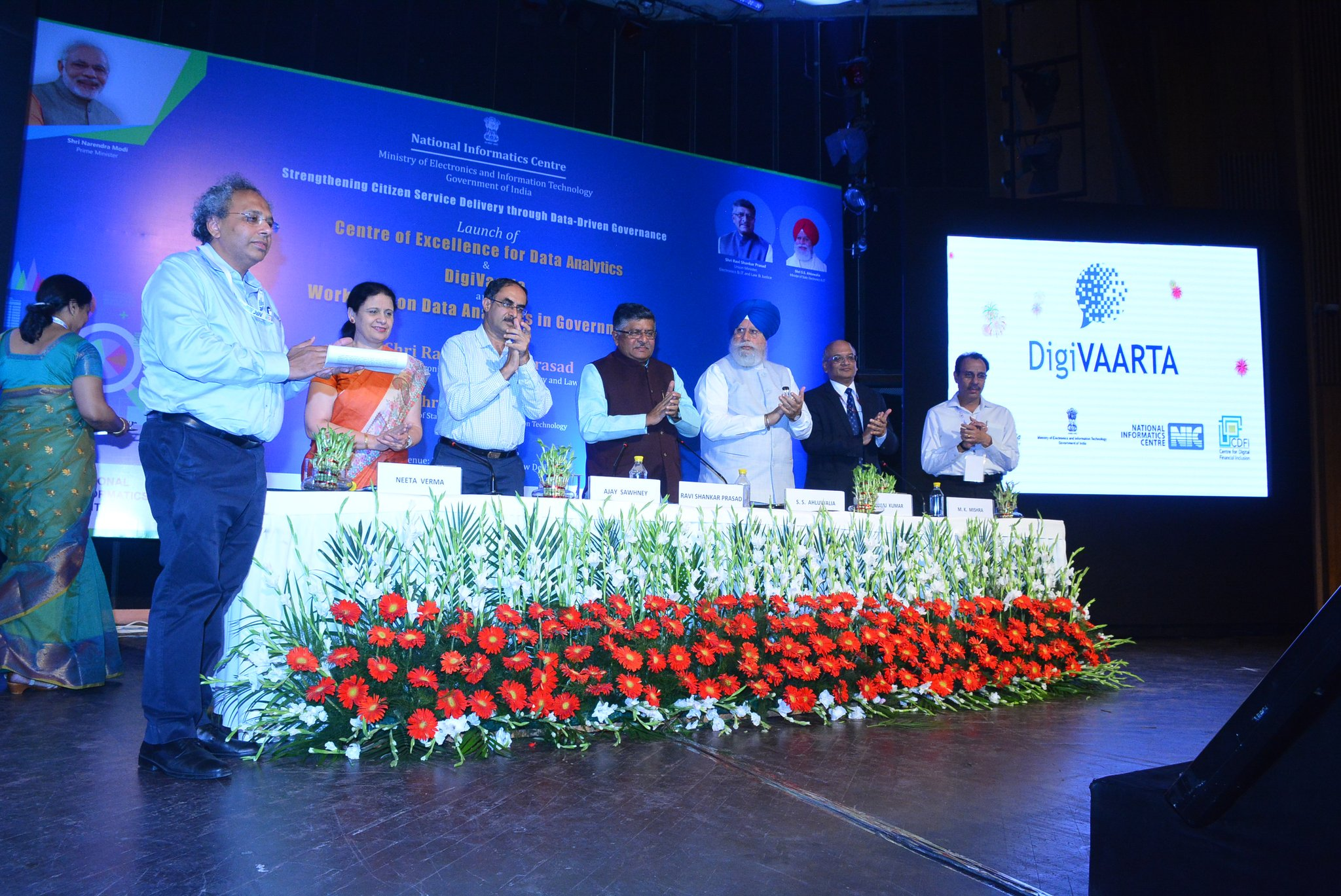 DigiVAARTA: Enabling dialogue with the common man
