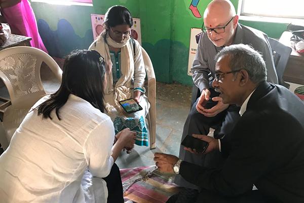 CDFI-CGAP teams visit - Raigad, Maharashtra